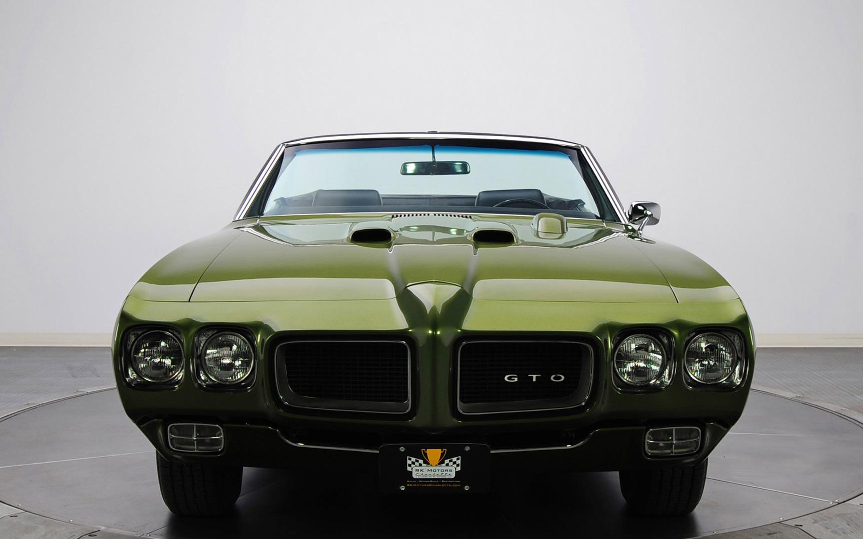 Download 1970 Pontiac GTO Judge wallpaper 1728x1080