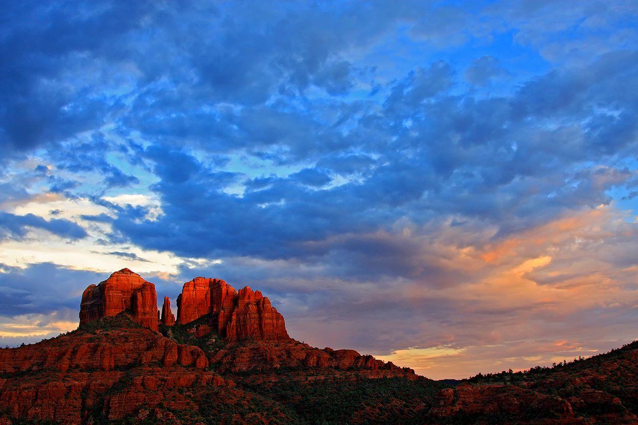 Arizona Iphone Wallpapers: Arizona Sunset Wallpaper