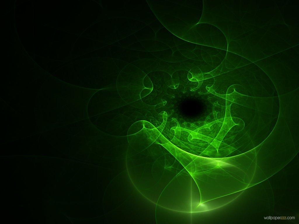Green Swirl Wallpaper Wallpapersafari