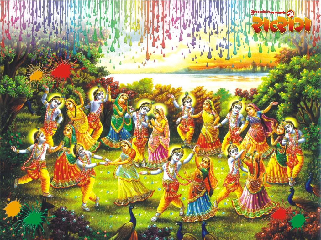 Colorful Holi Wallpapers Download HD Wallpaper Desktop 1024x768