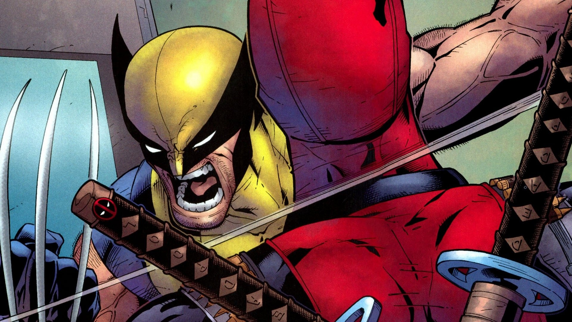 3 X Men Origins Wolverine vs Deadpool HD Wallpapers Background 1920x1080