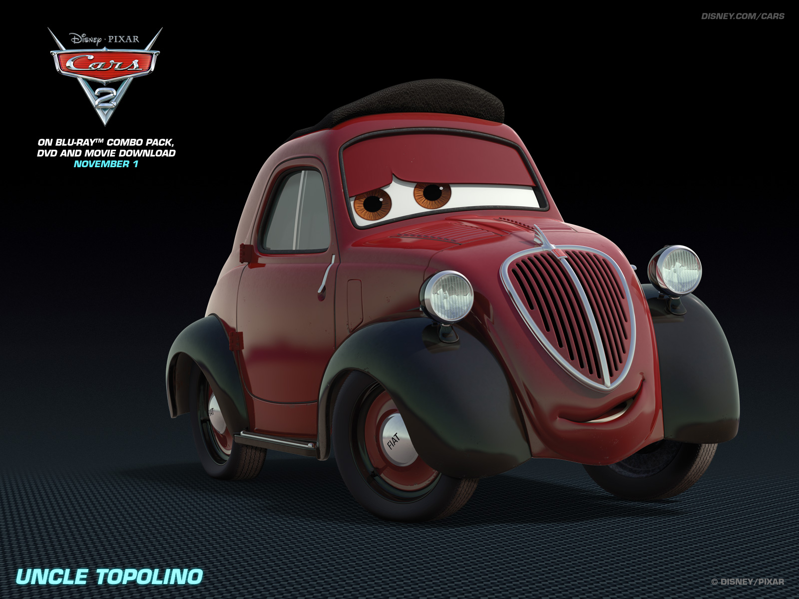 Umcle Topolino   Disney Pixar Cars 2 Wallpaper 28400632 1600x1200