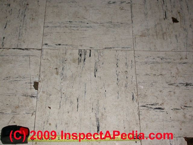 identify asbestos floor tiles
