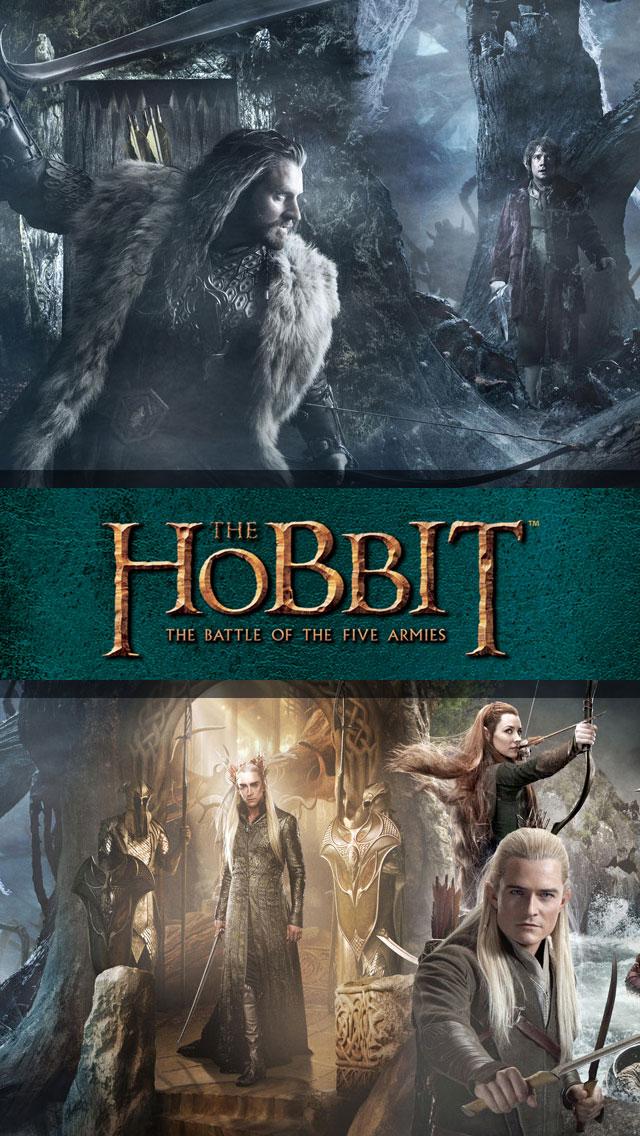 Hobbit 3 The Battle of the Five Armies iPhone 5 Wallpaper Retina 640x1136