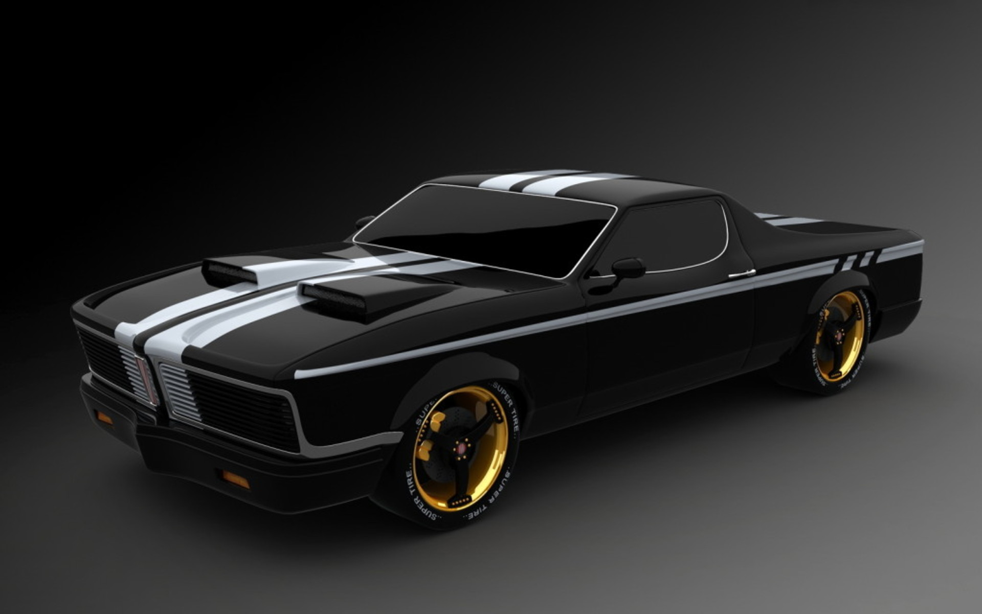 Cool muscle cars wallpaper 1920x1200