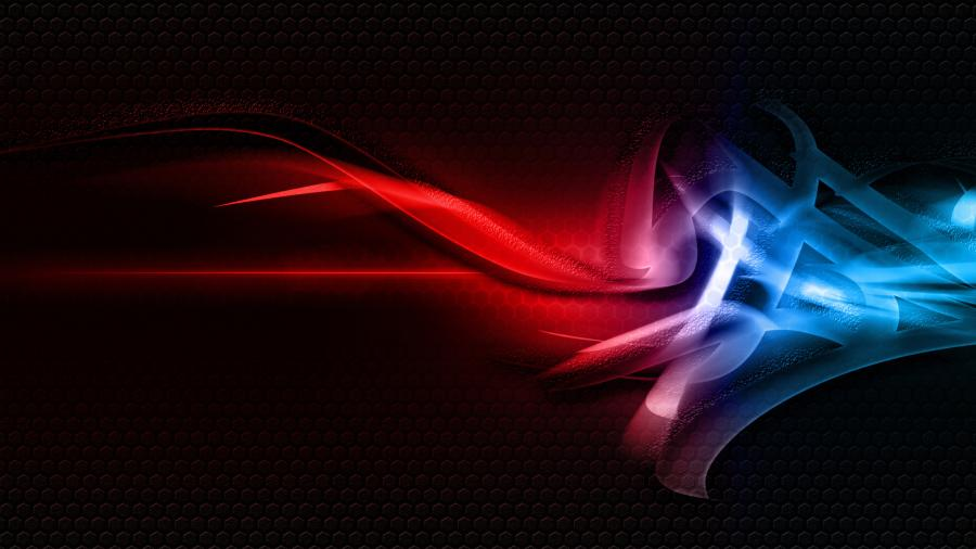 Abstract Red and Blue cover 4K Wallpaper 900x506