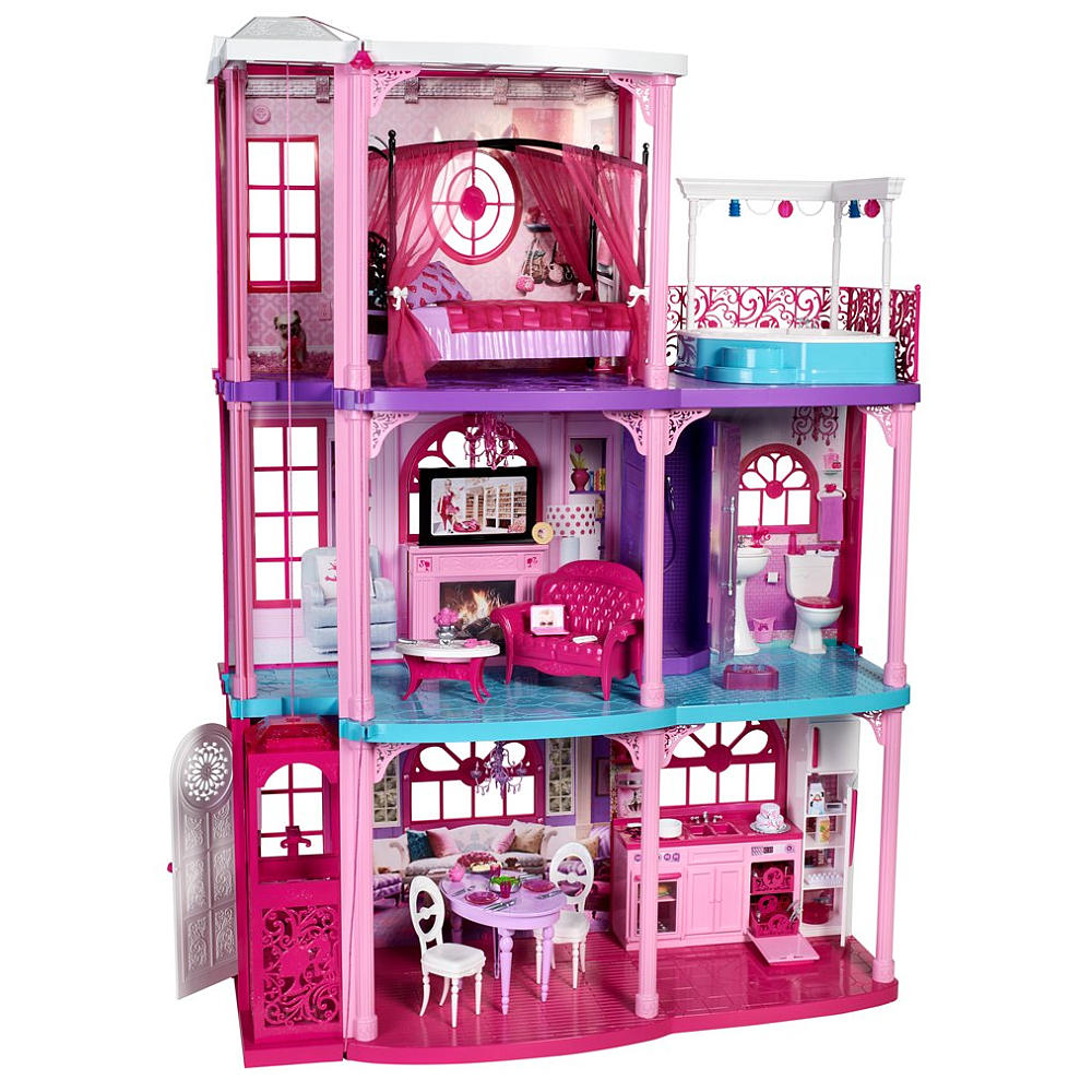 Barbie Dollhouse Wallpaper