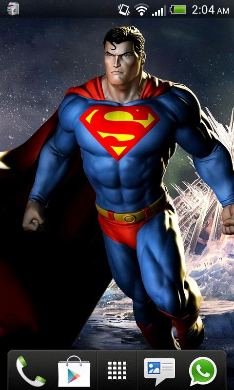 Superman HD Wallpapers 20 screenshot 2 480x800