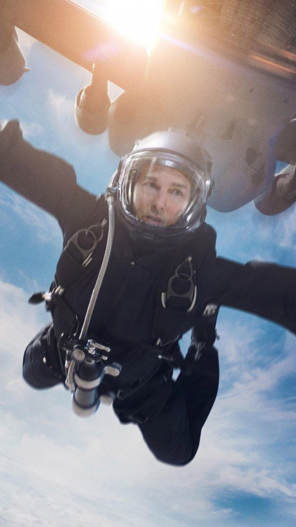 Tom Cruise Skydiving Mission Impossible Fallout Tom cruise 950x1689