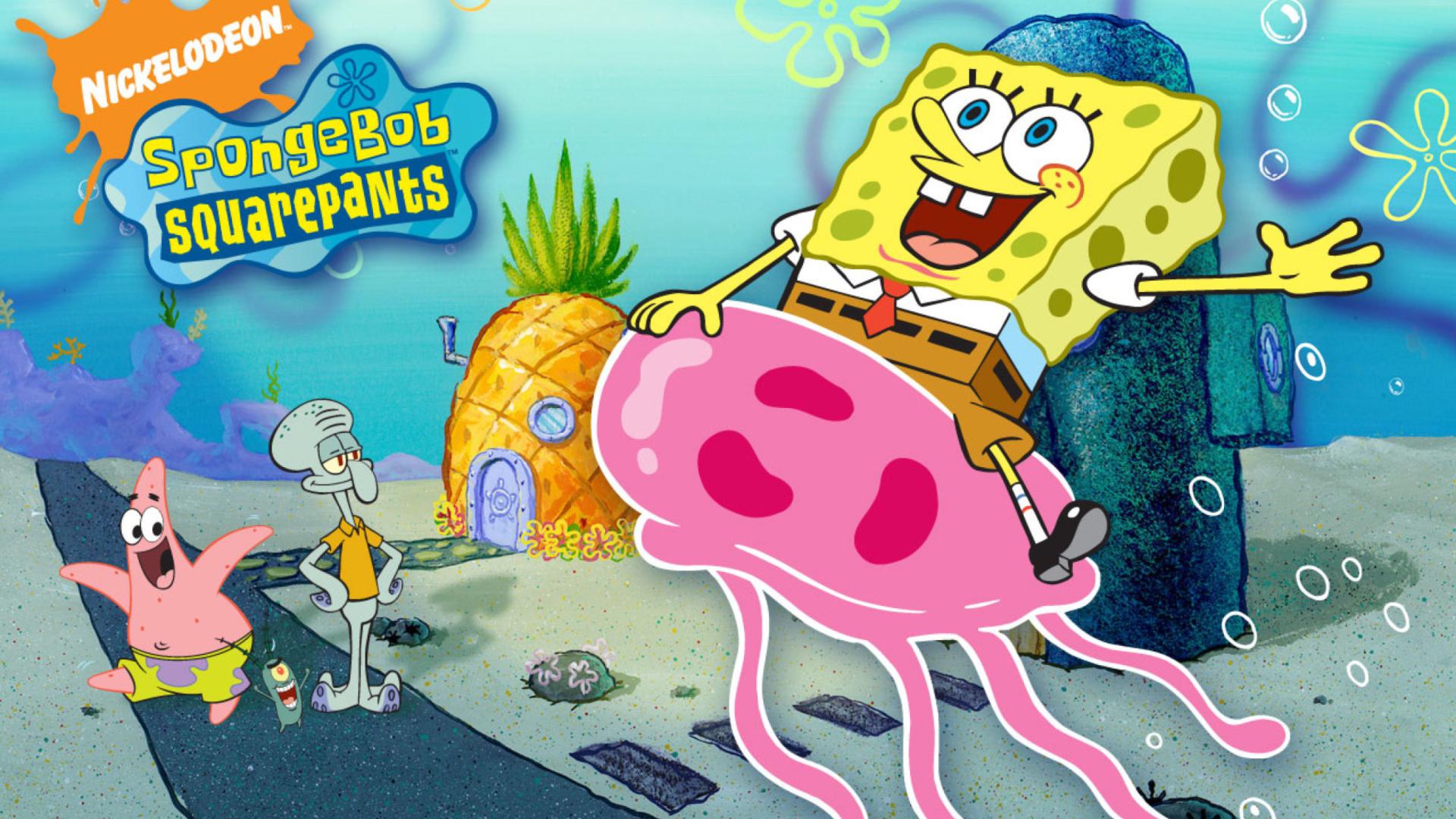 Nickelodeon Spongebob Squarepants Wallpaper for Desktop 1920x1080