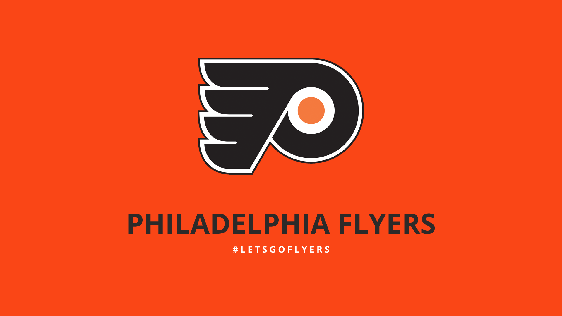 Minimalist Philadelphia Flyers wallpaper by lfiore Images   Frompo 1920x1080