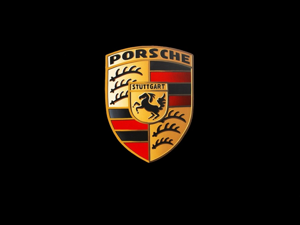 porsche logo wallpaper wallpapersafari. Black Bedroom Furniture Sets. Home Design Ideas