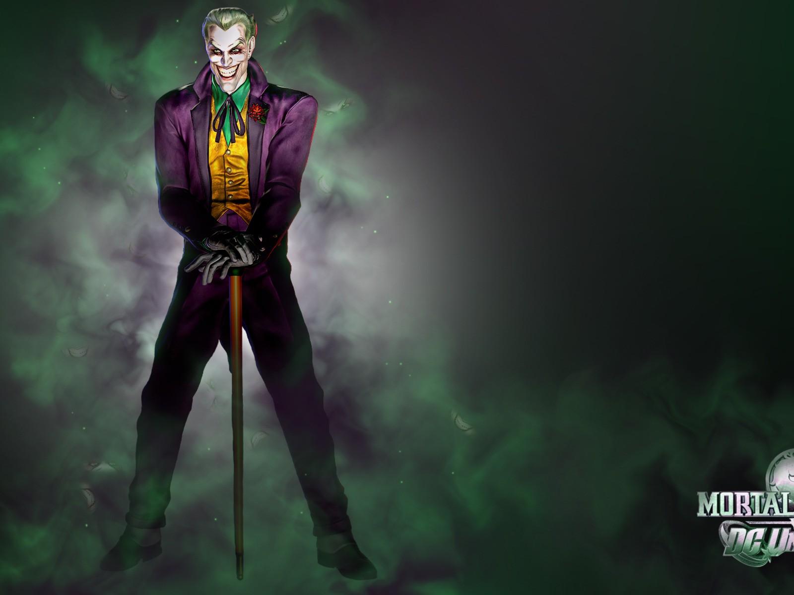 dc comics the joker villains HD Wallpaper   Cartoon Animation 1600x1200