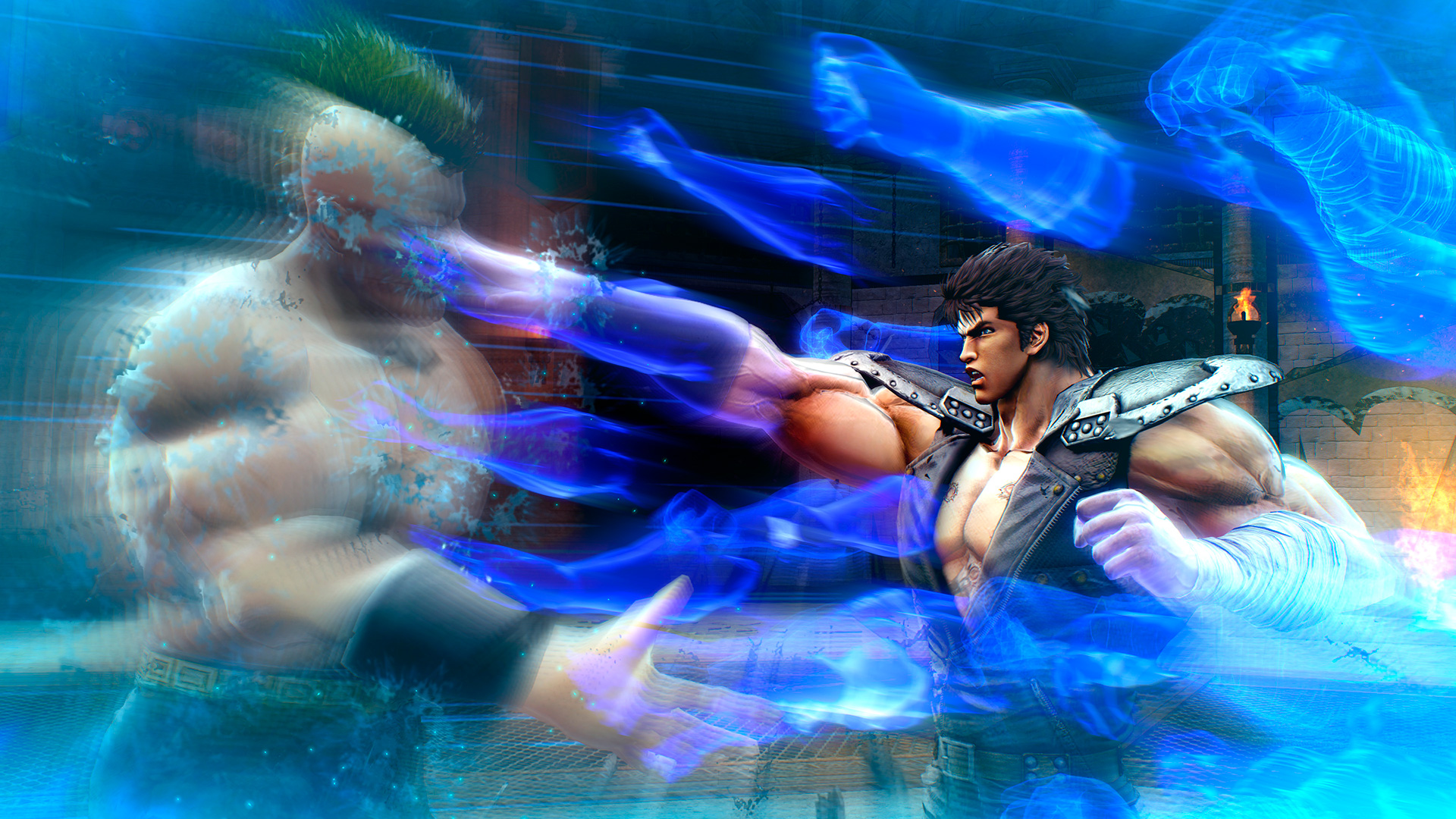 Review   Like any fight Fist of the North Star Lost Paradise is 1920x1080
