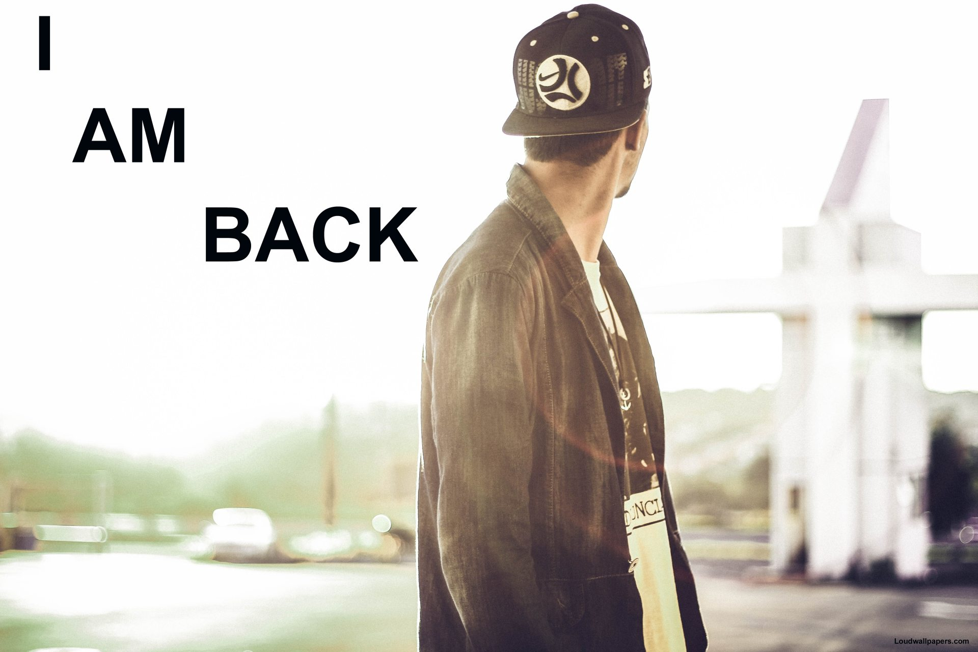 I Am Back Wallpaper for PC and Phone Download 1920x1280