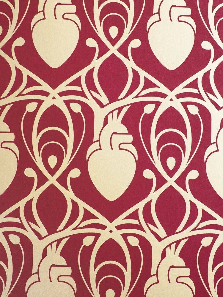 Cardiac Wallpaper from Anatomy Boutique pattern Anatomical 750x1000