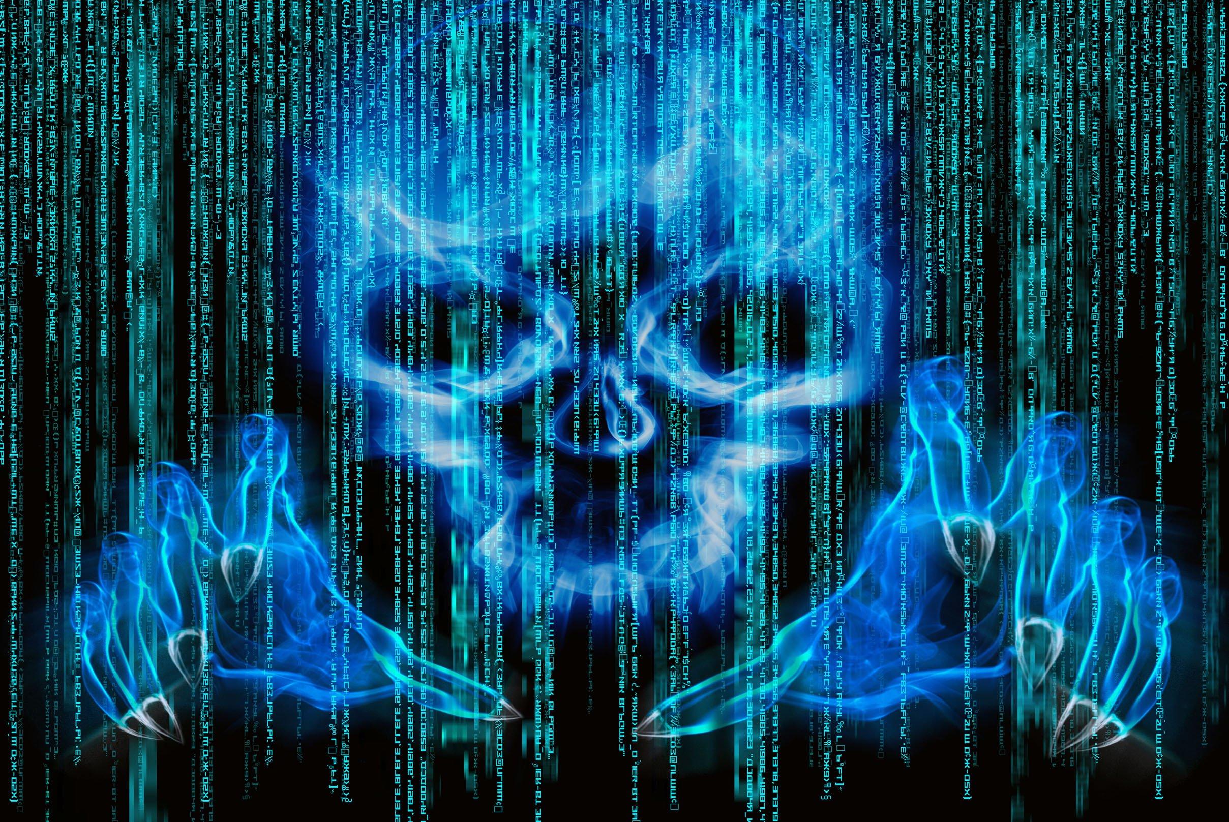 cyber hacker hacking virus dark sadic internet wallpaper background 2417x1617