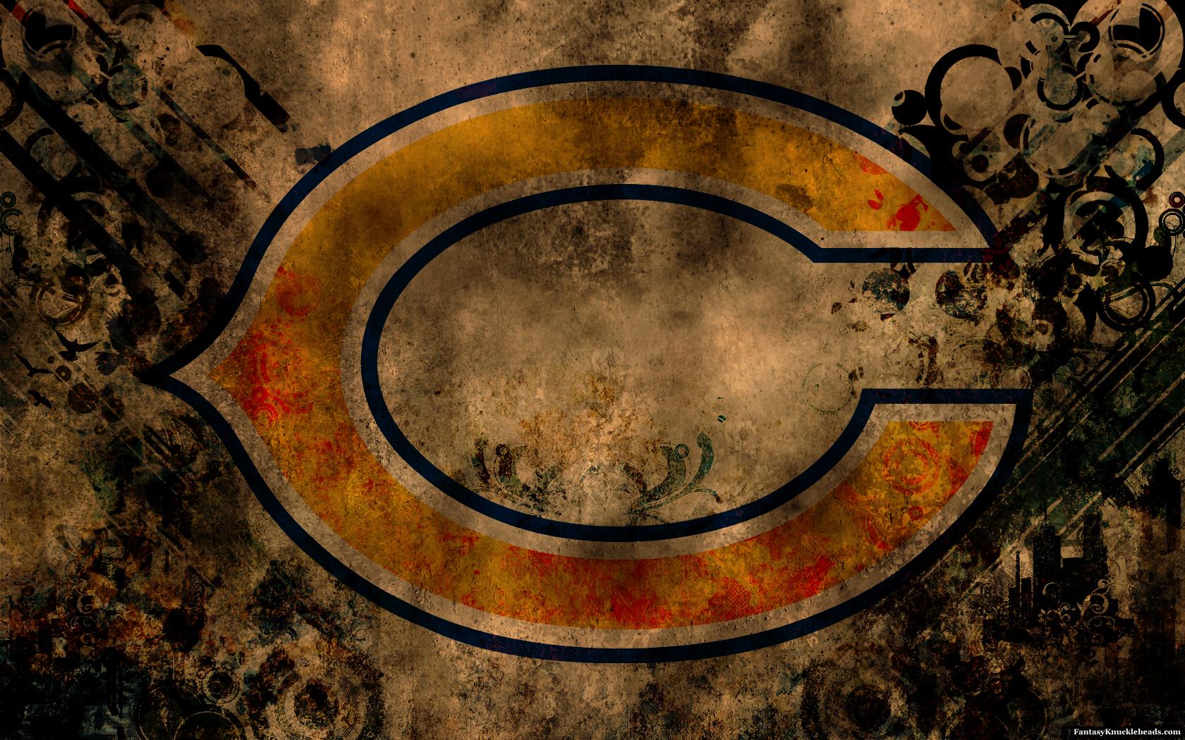 Pin Chicago Bears Desktop Wallpapers Wallpaper Fever 1680x1050