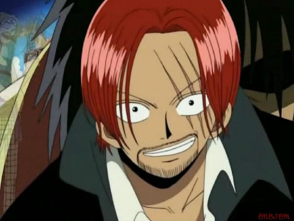 Red Haired Shanks   One Piece Wallpaper 34494454 1024x768
