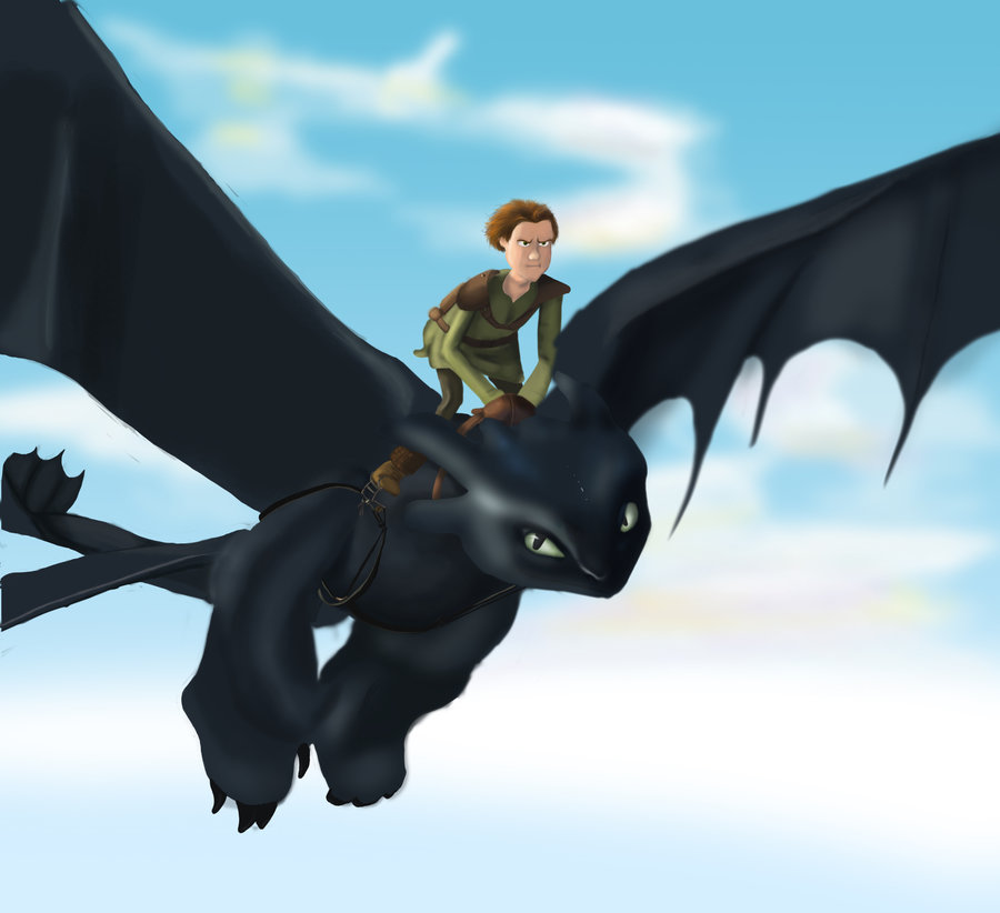 Toothless Wallpaper: Hiccup And Toothless Wallpaper