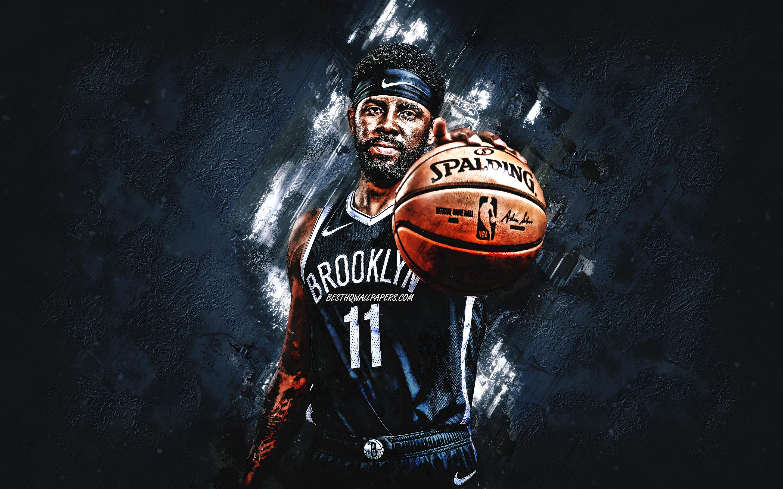 Kyrie Irving Brooklyn Nets Nba American Basketball   Fond D 2880x1800