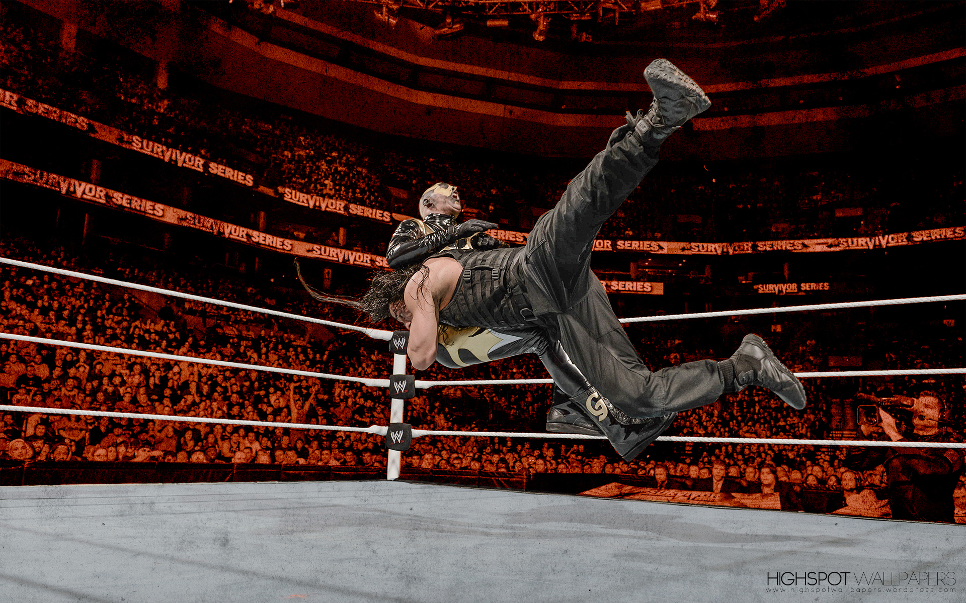 Roman Reigns Highspot Wrestling Wallpapers 1920x1200