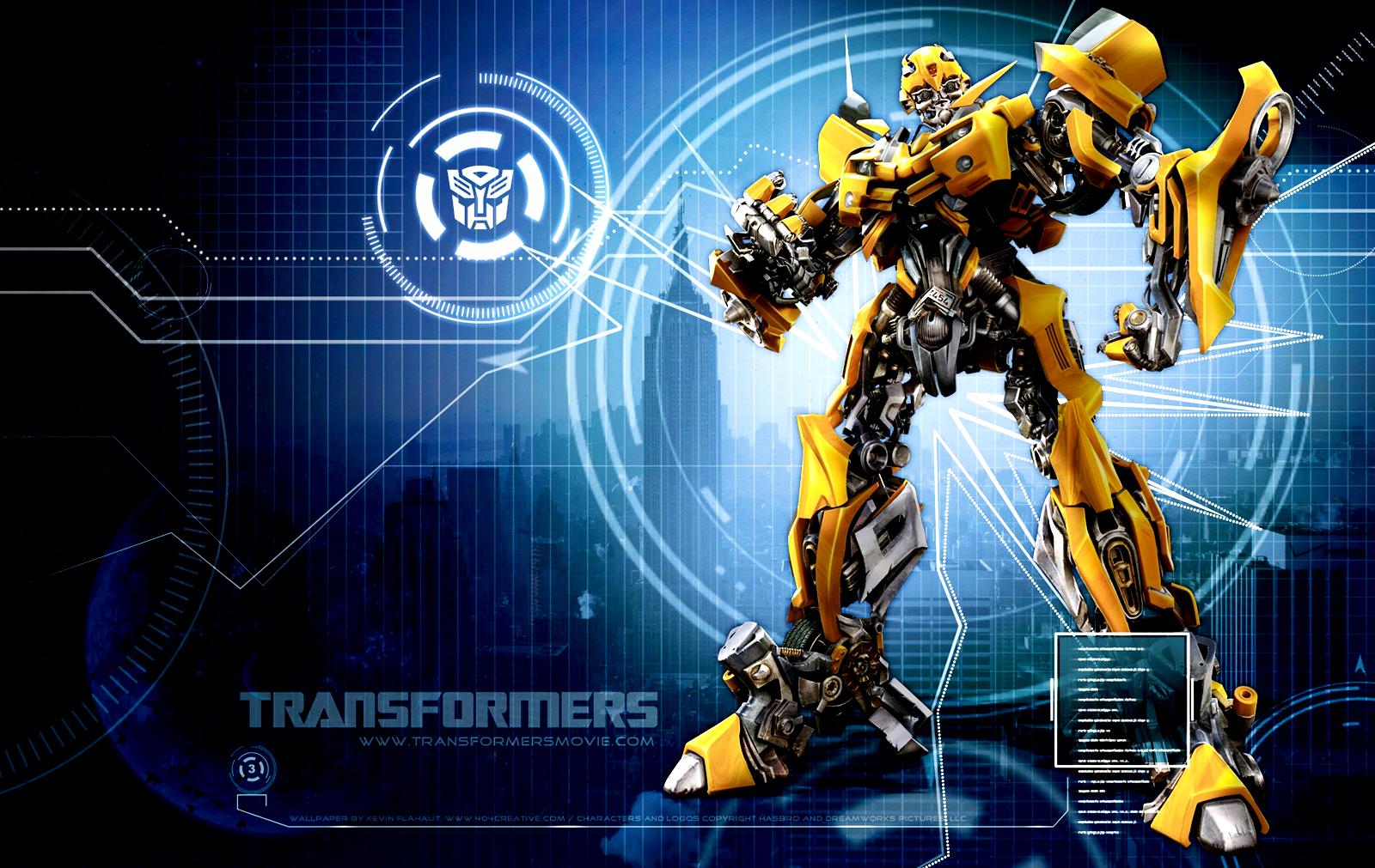 Transformers wallpapers hd wallpapersafari - Bumblebee desktop wallpapers ...