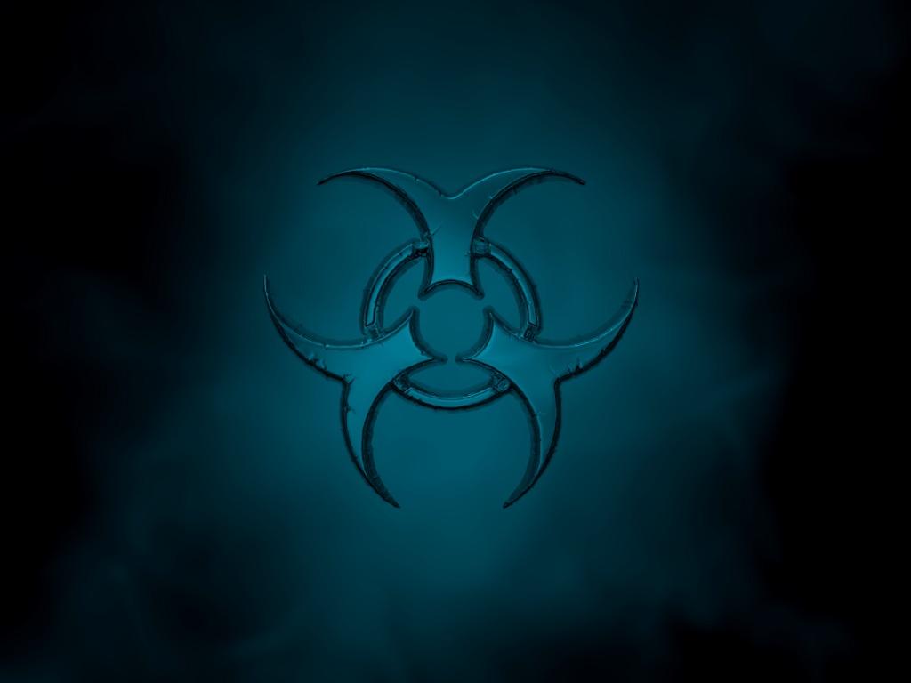 Biohazard Symbol Hd Wallpaper PicsWallpapercom 1024x768