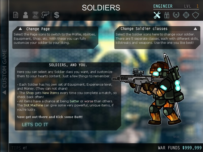 how to play commandos strike force online
