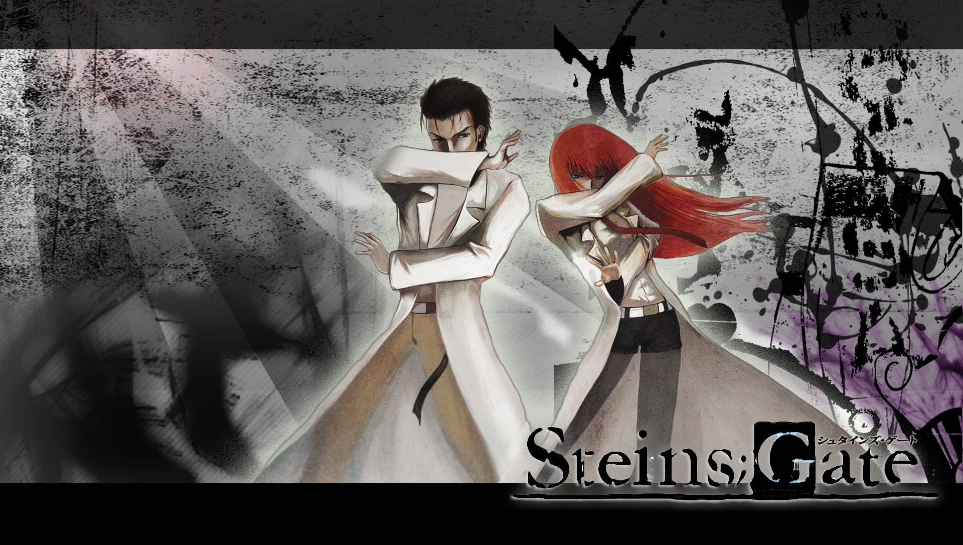 Free Download Steins Gate Makise Kurisu Okabe Rintarou Wallpaper
