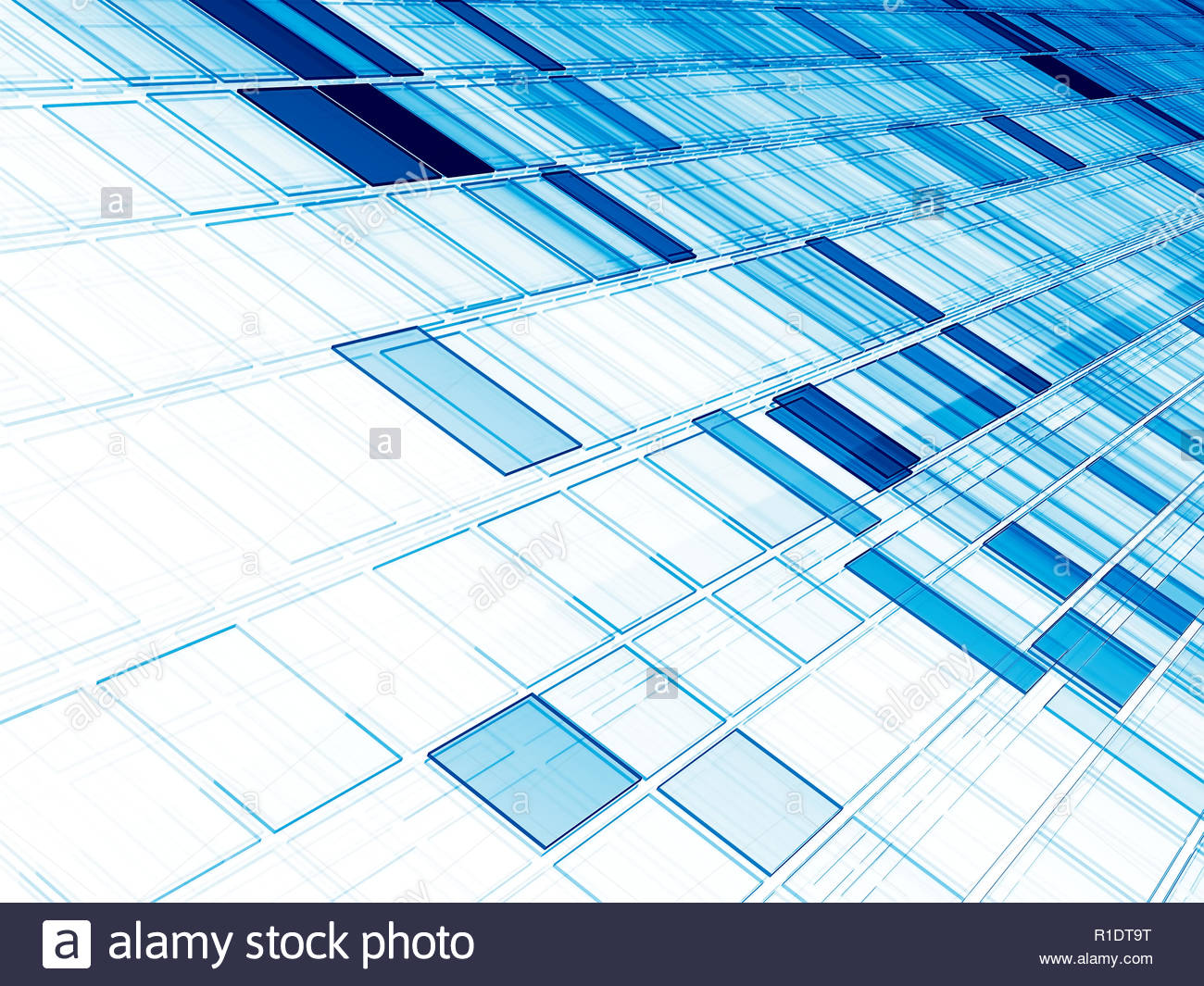 Blue on white diagonal tiles   technology background Abstract 1300x1065