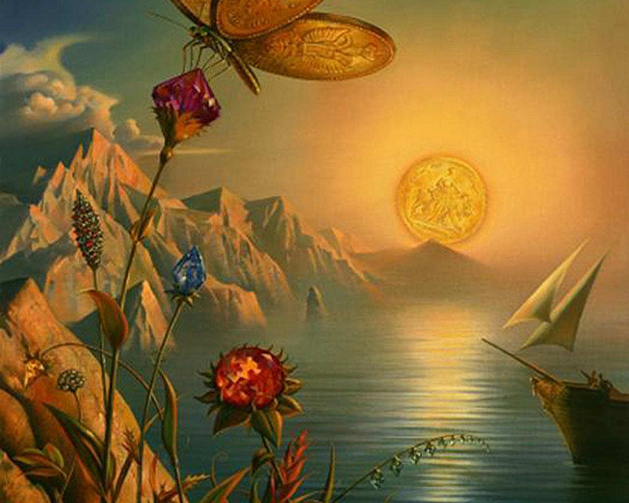 Vladimir Kush Desktop Wallpaper Wallpapers for samsung galaxy 1280x1024