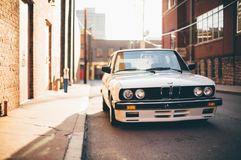 White BMW E30 car BMW street e28 HD wallpaper Wallpaper Flare 5760x3840