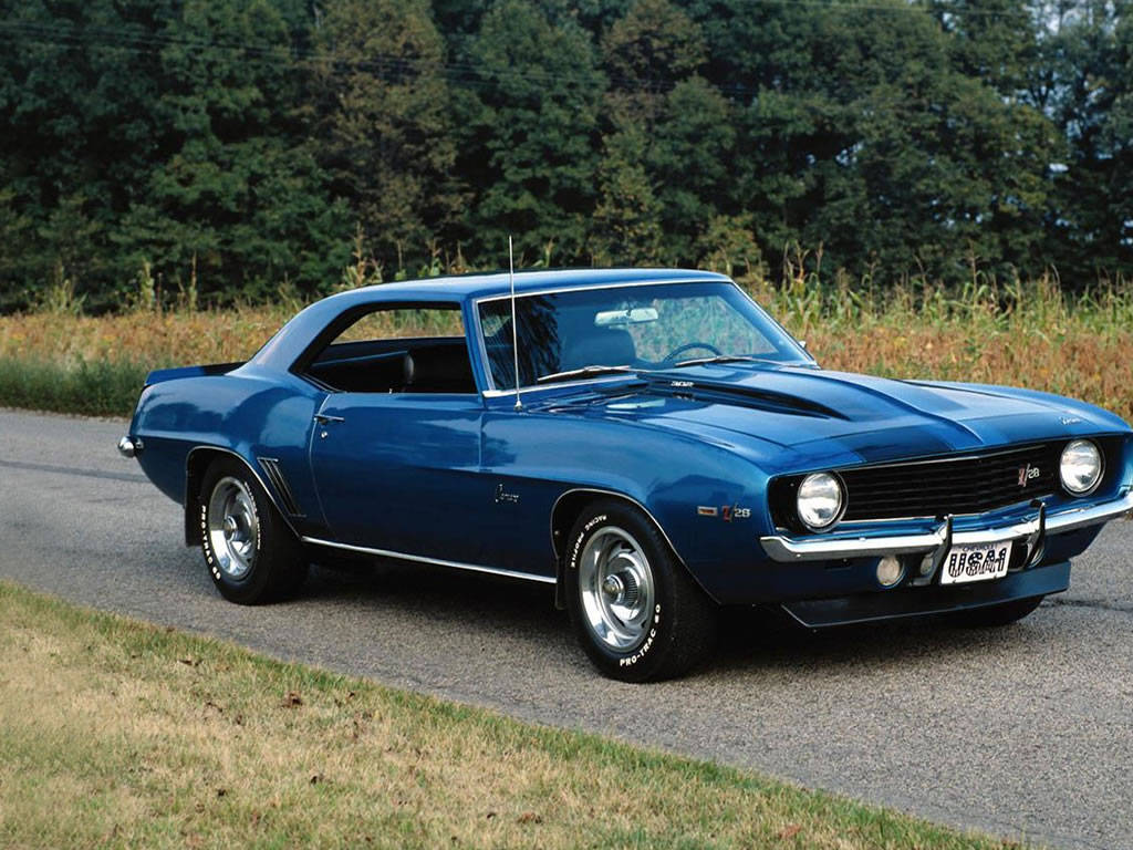 Muscle car wallpapers Popular Automotive 1024x768