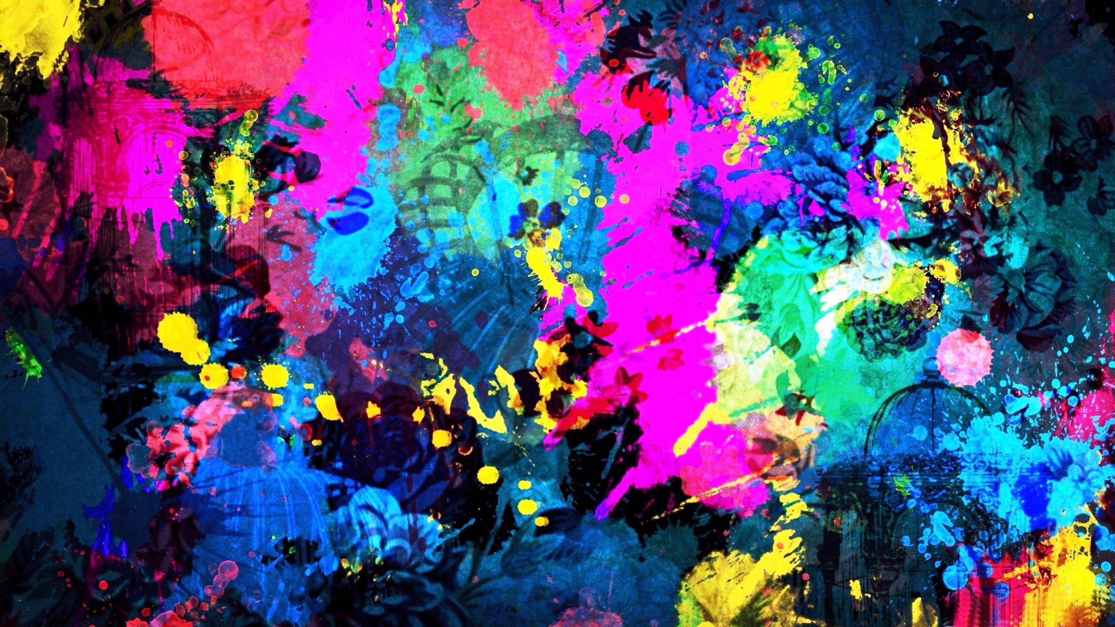 Color Art Abstract 4K Wallpaper 4K Wallpaper 3840x2160