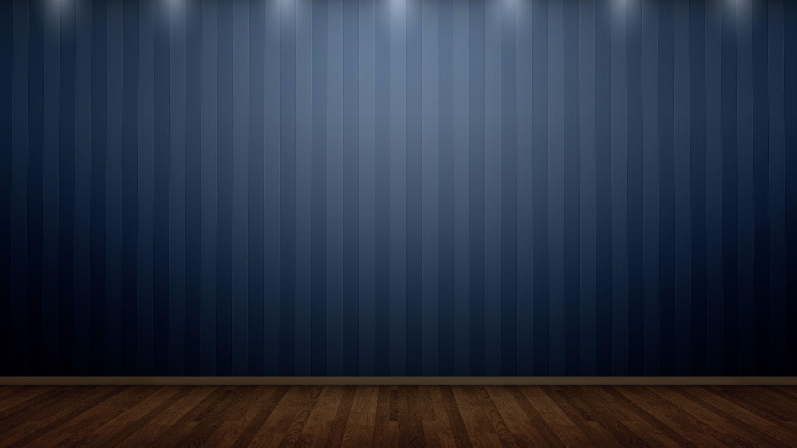 Blue Striped Wallpaper: Blue Wood Wallpaper