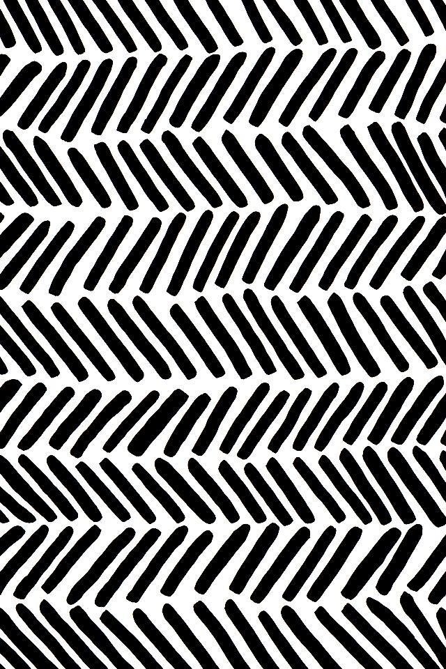 Patterned iPhone Wallpaper Broken Chevron Blog   Cotton 640x960