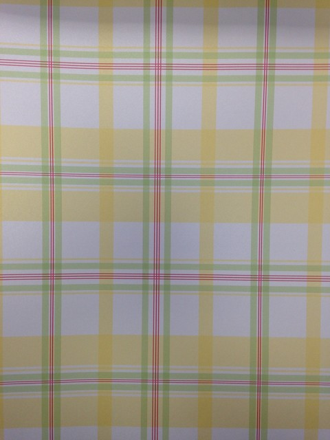Yellow Plaid Wallpaper Wallpapersafari