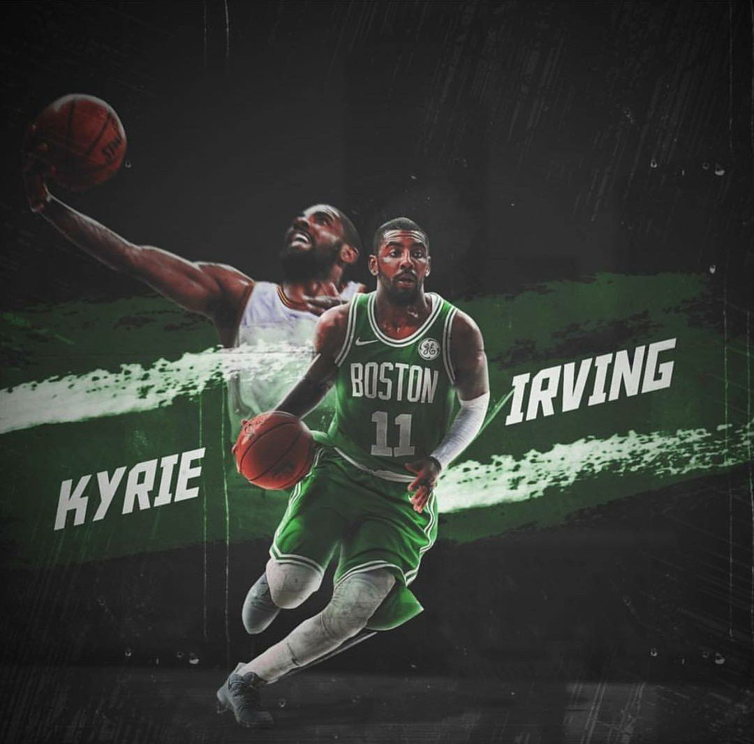 Download Kyrie Irving Boston Celtics edit BASKETBALL Pinterest 1080x1067