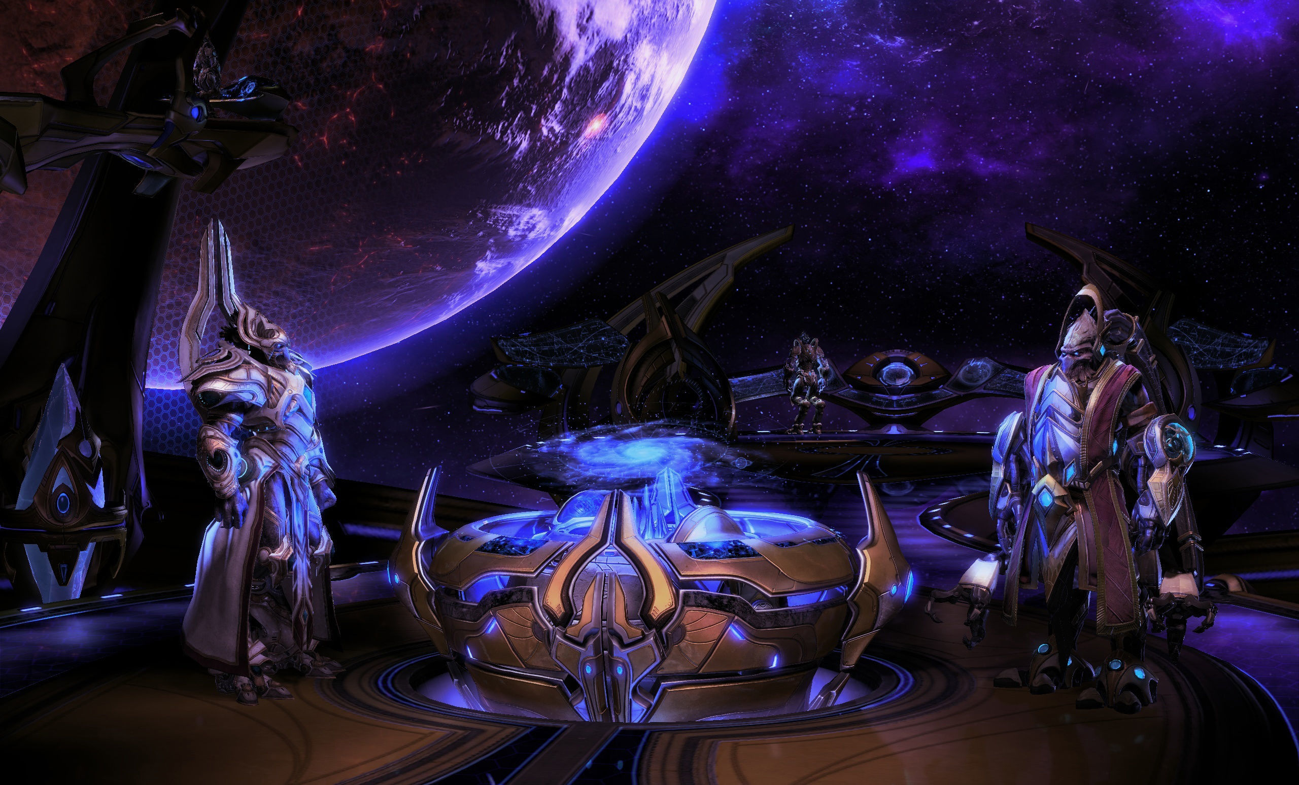 StarCraft II Legacy of the Void HD Wallpaper Background Image 2560x1548