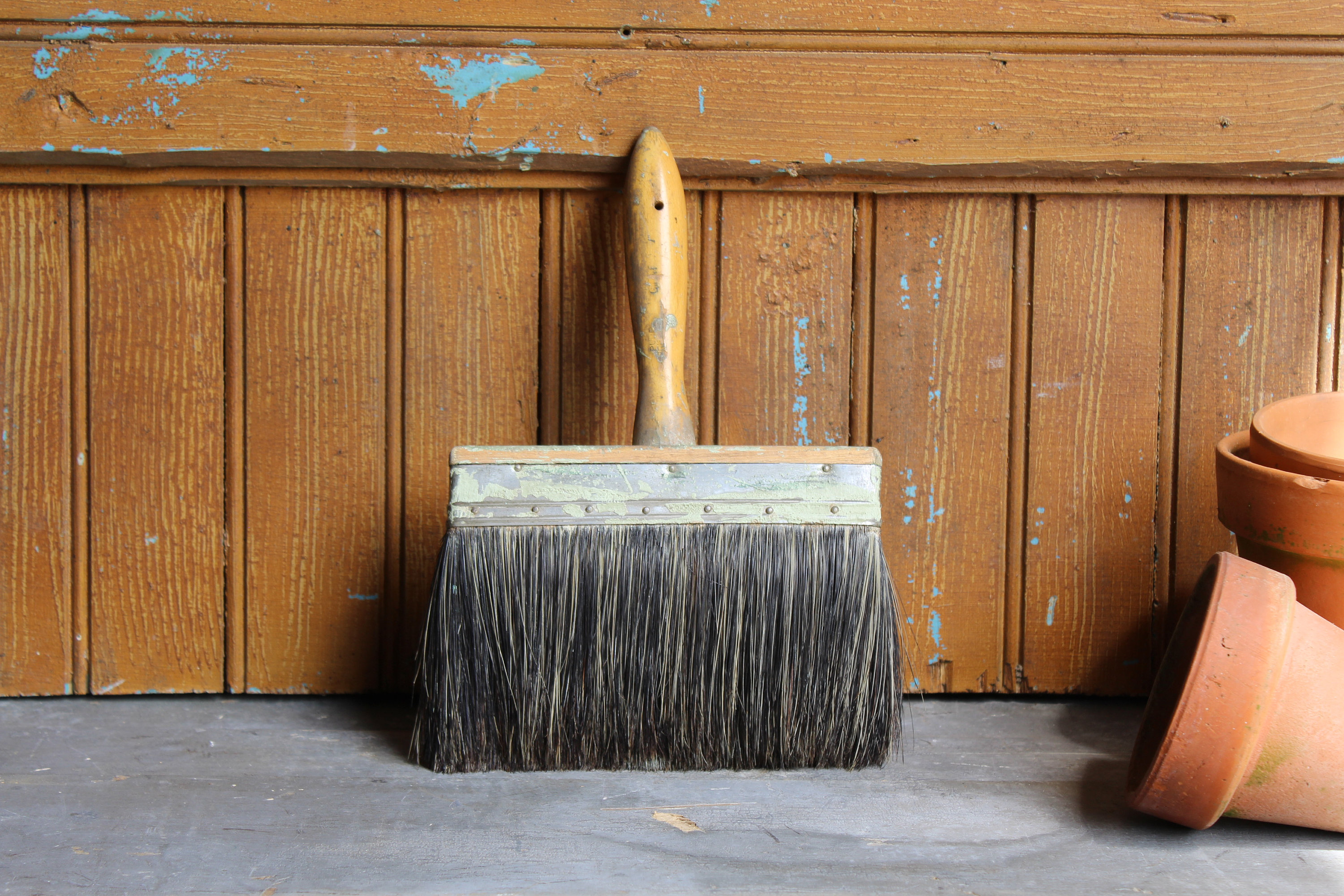 Vintage Wide Chunky Paintbrush Thick Wallpaper Brush Large Etsy 3000x2000
