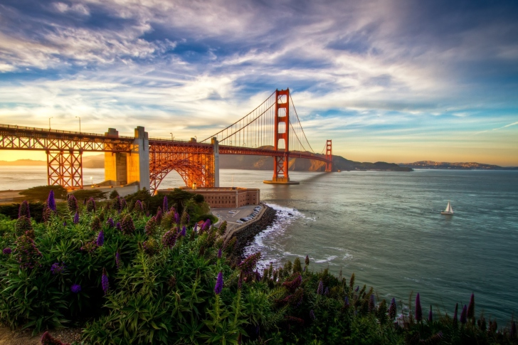 Golden Gate Bridge Wallpaper for Android iPhone and iPad 728x485
