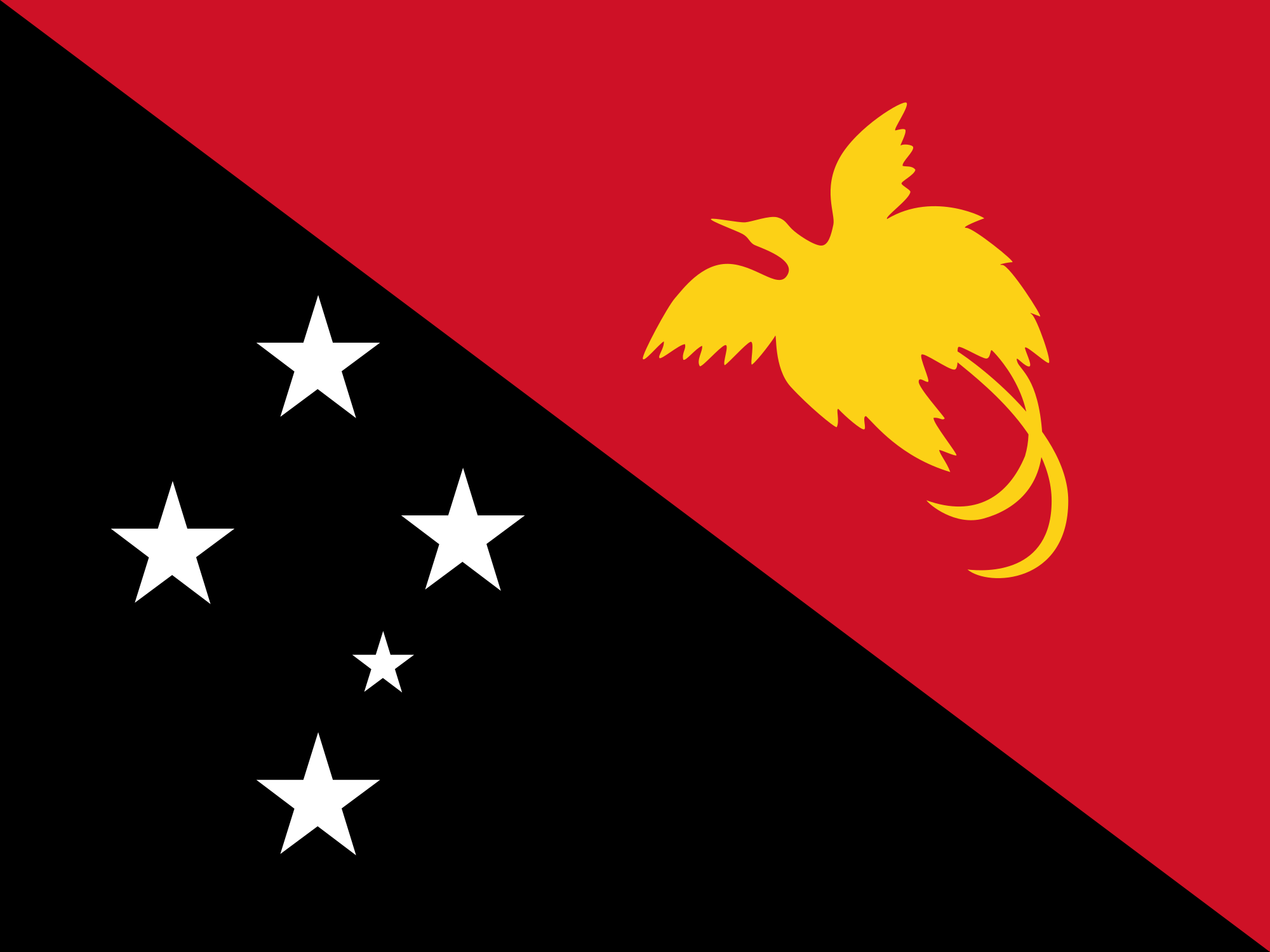 Wallpaper Of The Flag Of Papua New Guinea PaperPull 2000x1500