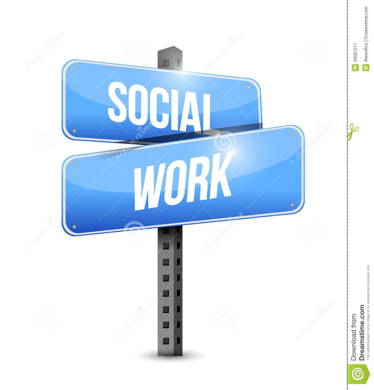 Social Work Clipart Social work road sign 1248x1300
