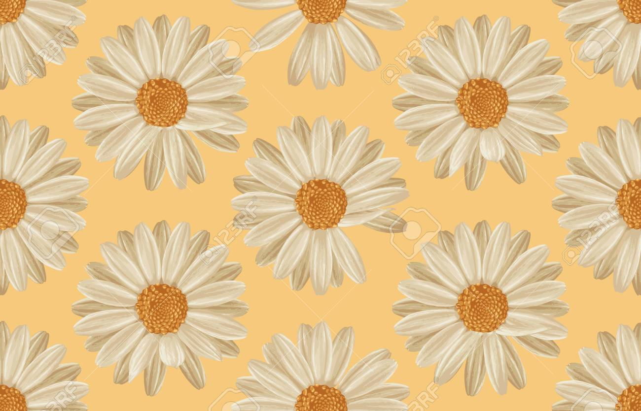 Printable Seamless Vintage Repeat Pattern Background With White 1300x835
