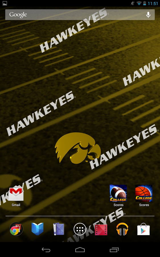 Iowa Hawkeyes Live Wallpaper   Android Apps on Google Play 562x900