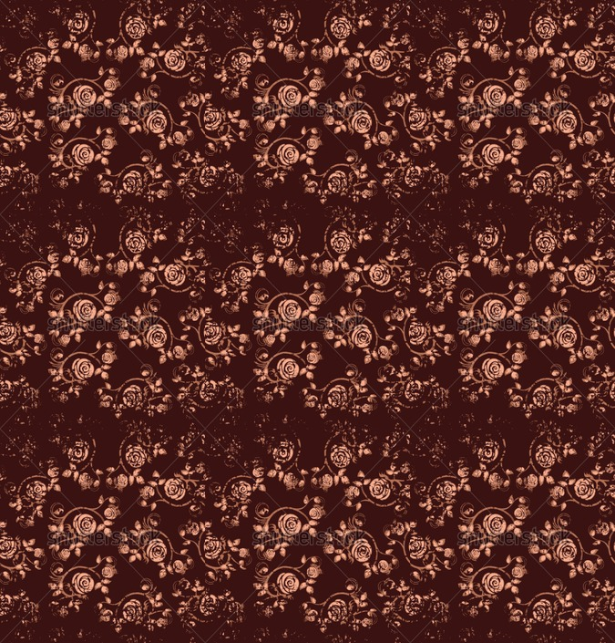 brown rose seamless background floral pattern Vintage wallpaper flower 675x705