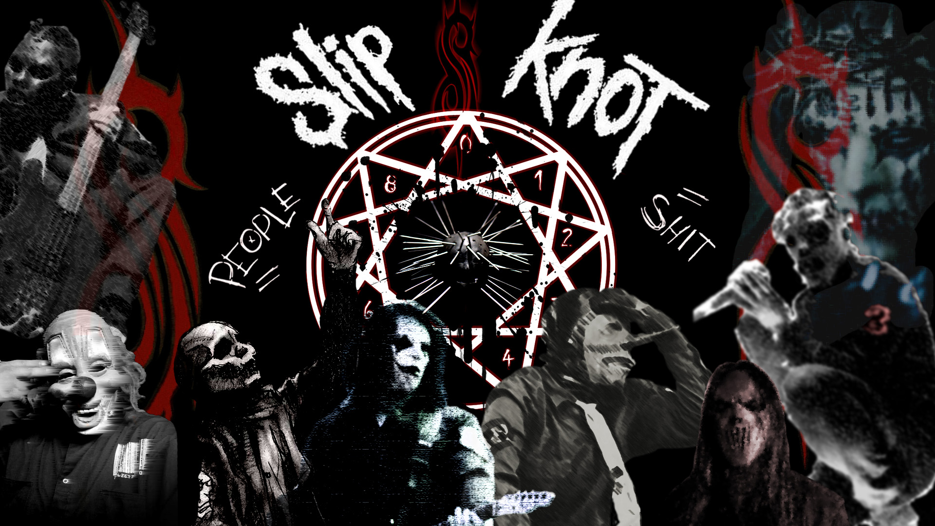 Pics Photos   Slipknot Wallpaper Hd 1920x1080