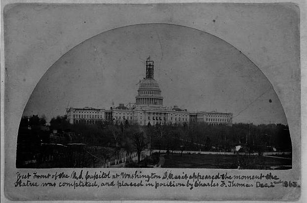 Confederate Wallpaper Border West front of the us capitol 622x412