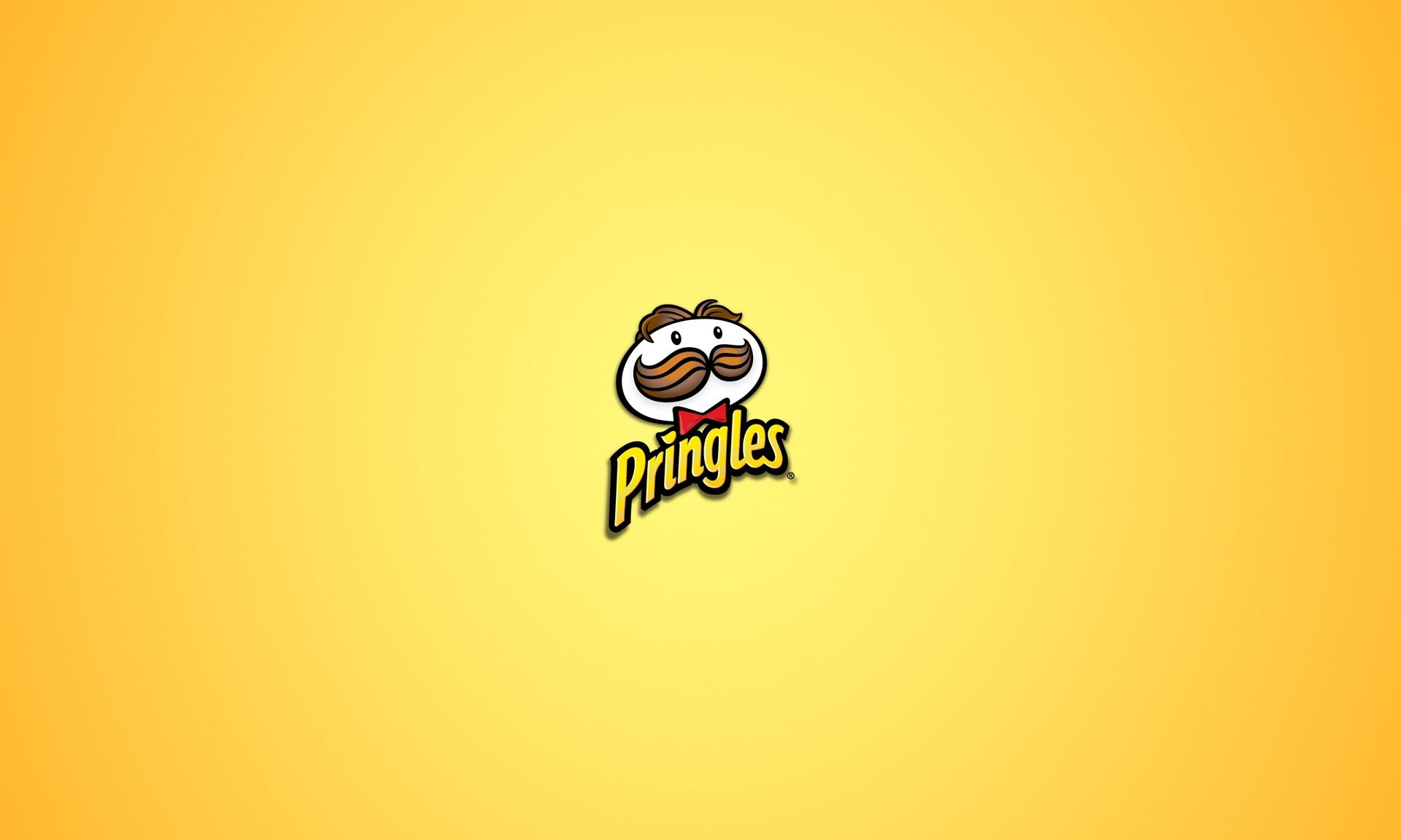 Pringles Logo Wallpaper In Yellow Background PaperPull 1920x1152